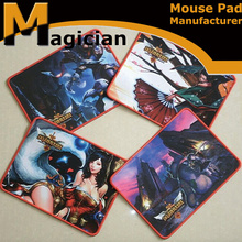 Hot selling custom League of Legends gaming mouse pad with 3mm thickness