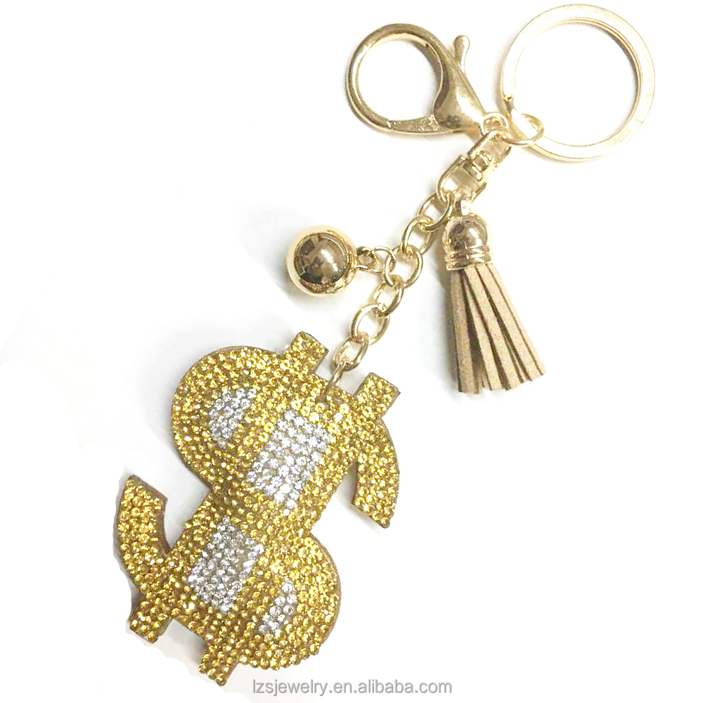 Cute Dollar Design Keychain Manufacturers In China Key Chain Wholesale