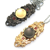 NEW Finger Gyro Necklace Hand Fidget