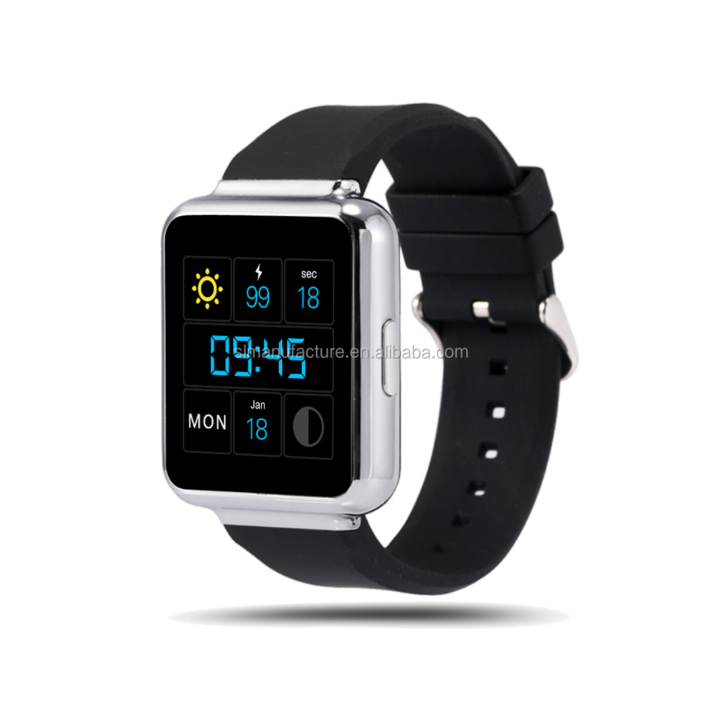 Smart Q1 1.54 Inch 2.5D Sapphire Touch Panel MTK6580 Quad Core 3G Wifi Smart Watch