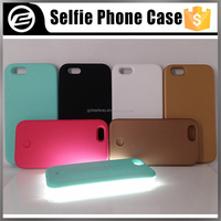 Original quality Luxury phone cover selfie light up LED mobile phone case for iPhone 5g 5s 6g 6plus 6s plus