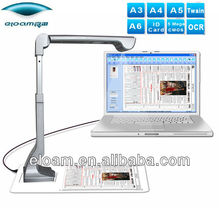 Eloam S600 a3 portable document scanner , document camera ,visualizer for office ,education and bank industry