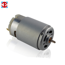 Dc carbon brush gear micro motor for vacuum cleaner