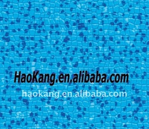 Indoor durable anti-slip swimming pool pvc flooring