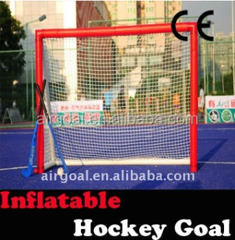 inflatable portable 6'X4' hockey goal, hockey training equipment