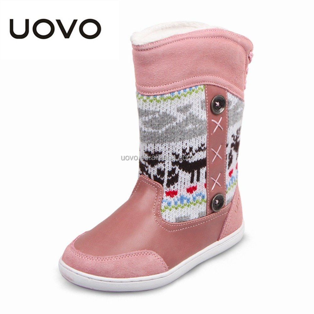 cheap rubber winter snow no lace child high boot