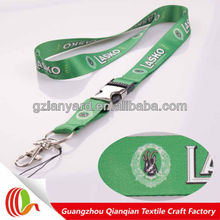 New promotional new fabric fashion airplane buckle lanyard