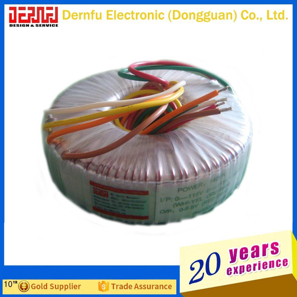 Toroidal Transformer For Wind Power/Soalr Power/UPS//Lighting/Medical/Audio/Door Control System