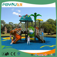 Attractive outdoor homemade playground equipment children playground slide