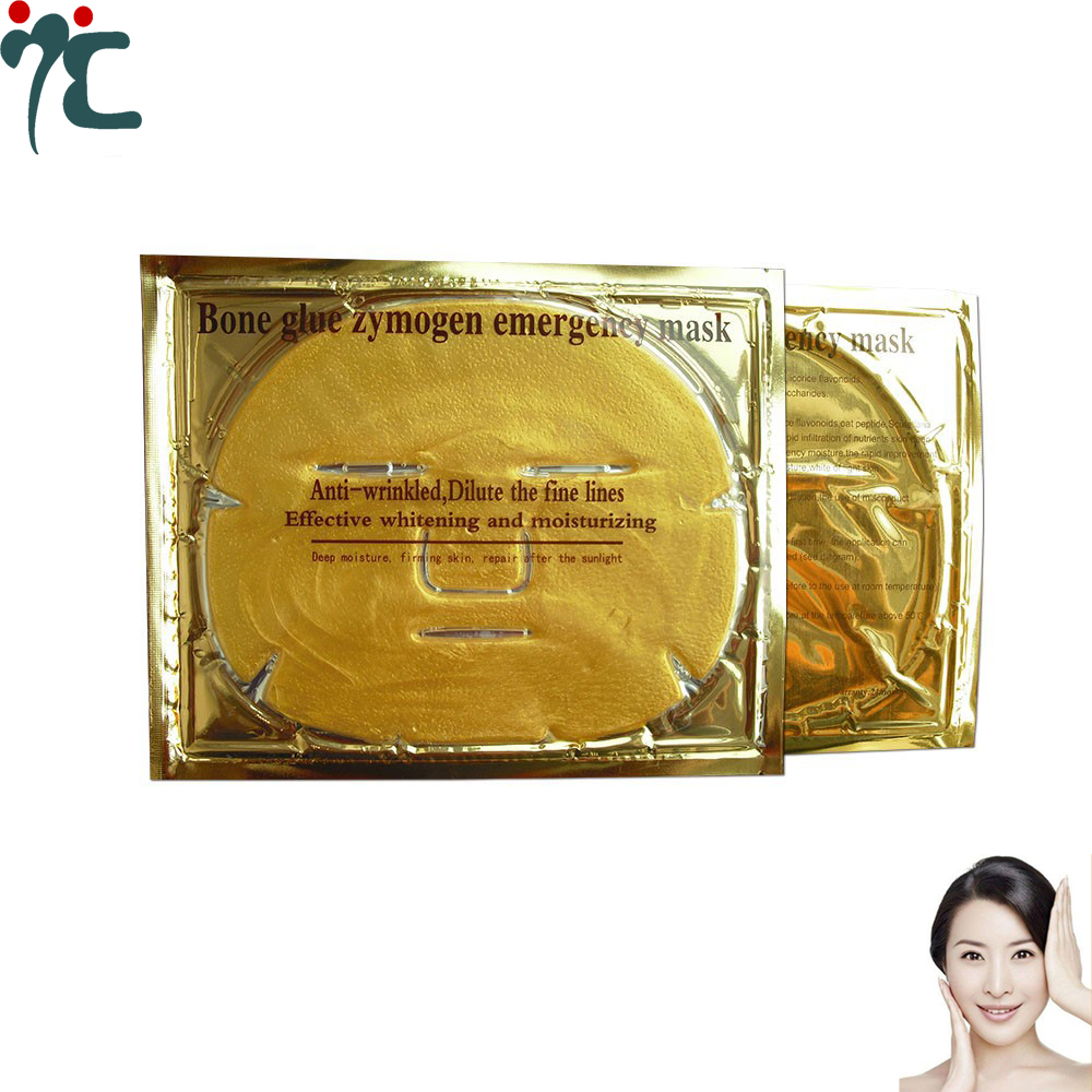 Gold Bio-Collagen Facial Mask For Hydrating And Repair Skin