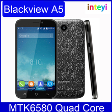 In Stock Blackview A5 Mobile Phone 3G Smartphone Android 6.0 OS MTK6580 Quad-core 1.3GHz 1GB 8GB 5.0 MP Dual SIM Card Cellphone