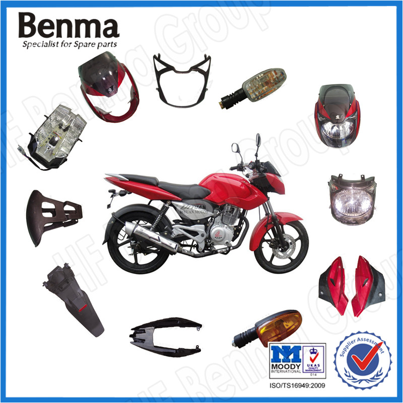 Bajaj Pulsar 180 Motorcycle Body Spare Parts, Motorcycle Plactic Side Cover