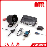 Arming without transmitters 433.92MHz two way car alarm system
