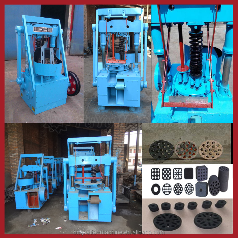 2016 hot selling honeycomb briquette making machine for sale / honeycomb coal briquette machine