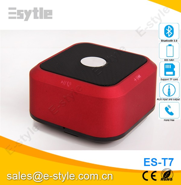 Hot good quality function big sound mini music cube portable speaker