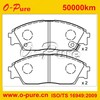 45022-SH3-G31 brake pads auto parts wholesaling for japan car for CONCERTO car