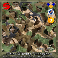 Multi function 210D polyester outdoor jungle military camouflage net in different size