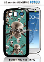 New arrive funny case for samsung galaxy s3,3d case for samsung galaxy s3 mini i8190