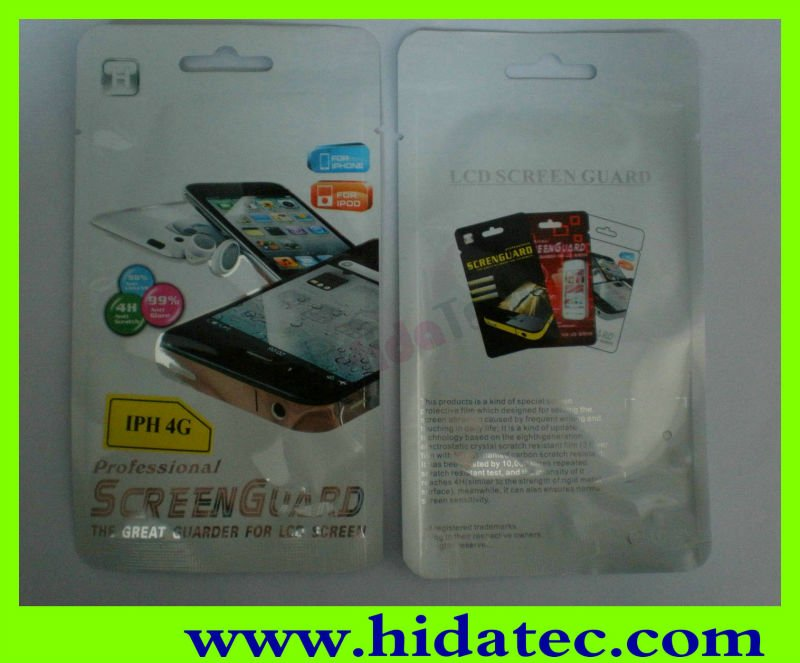 Screen Protective Guard Film Cover for Samsung Galaxy S4 Mini,Factory OEM/ODM