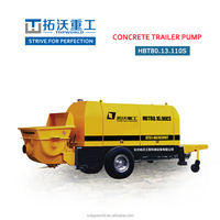 Brand New dragable concrete pump HBT80.13.110S