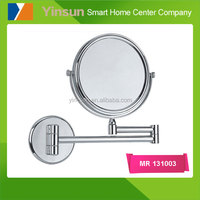 Bathroom Wall Mounted Makeup Mirror Extending