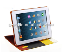2014 new product for ipad mini case with wallet leather design