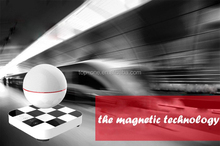 Maglev design 360 surround stereo subwoofer NFC portable levitating wireless bluetooth speaker
