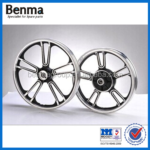 Factory direct sell motorcycle chrome wheel/chrome wheel for motorcycle with high quality