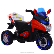 big horsepower 3 wheel 12V kids electric motorcycle children ride on cars with two seat