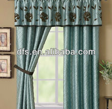 Flocking Curtain With Lining