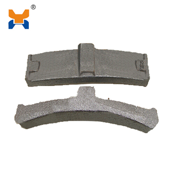 train brake pad,brake shoes for railroad fastening system
