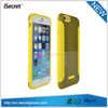 iSecret Mix color design glossy back tpu pc case for iphone 6