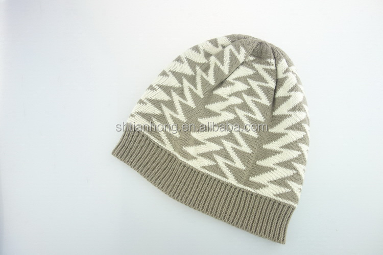 China wholesale newly design acrylic knitted hat and scarf sets