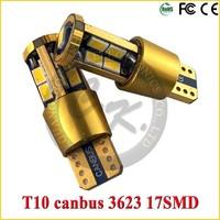 14k golden brightest design T10 5w5 car led auto bulb led light