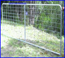 14ft I type rural farm gate galvanized factory price easily installed