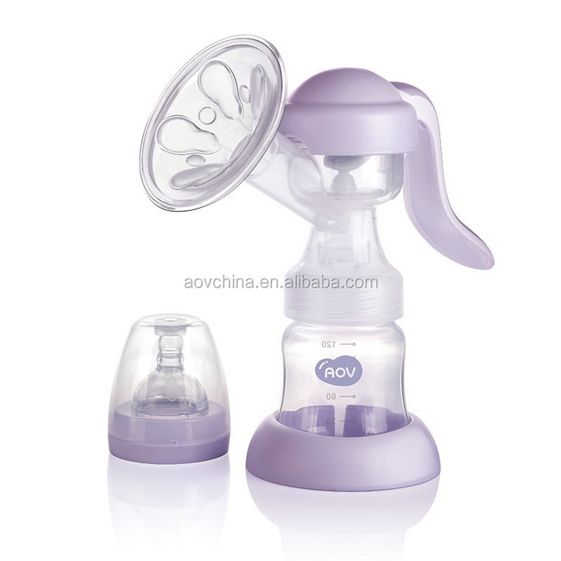 Easy Carry Products Hands Using Products Baby Feeding Manual Breast Pump