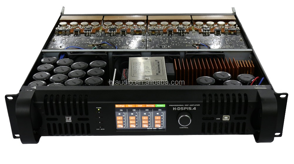 BT audio DSP Amplifier,4 channel dsp power amplifier,portable class td amplifier