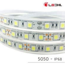 shenzhen perfect led strip 5m 300 LED 5050SMD flexible light 60 led/m no-waterproof LED strip tape with Dimmer