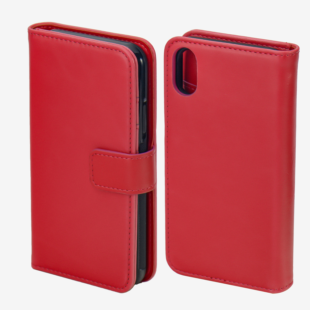 Mobile Phone Detachable Magnets Wallets Case for iPhone X