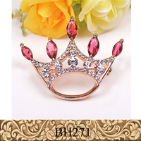 Fancylove jewelry fashion boutique crown brooch zircon shawl clips dress decorative brooch