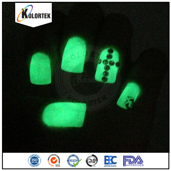 Wholesale glowing in the dark powder, night glow pigment, photo luminescent powder factory price