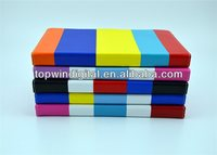 Book Style+Colorful Stripe Tablet PC Case for iPad 2 3 4