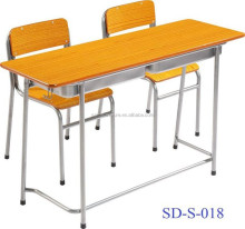 Education furniture elementary school desk with chairs SD-S-018