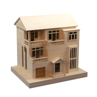 New unfinished wooden bird house wholesale, hot sale wooden bird house