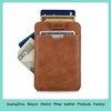 Genuine Leather RFID Blocking Ultra Thin Credit Card Holder Slim Card Sleeve Wallet For Up To 14 Cards