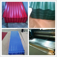 Roof Application Prepainted Color Coated Corrugated Steel Sheet /Plate