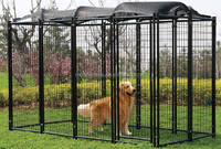 alibaba express top tent Lucky Dog Powder-Coated Kennel
