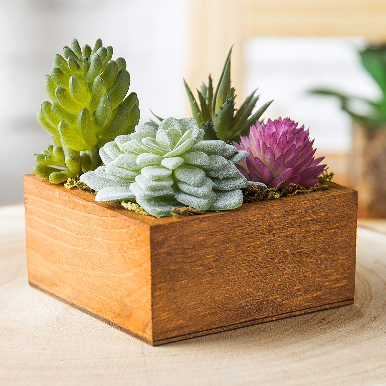 2018 handmade wooden pots wooden flower pot stands pot flower flower box