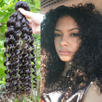 Summer Hair Curly Wave 100% Human Hair Brands Peruvian Hair Weaves Pictures