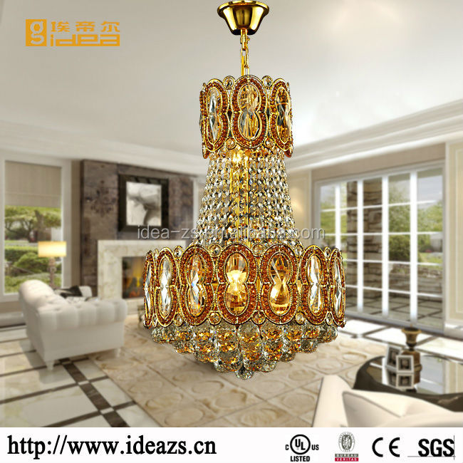 lighting hotel hanging lights modern ballroom crystal antique iron chandelier french